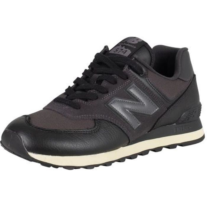 new balance hommes cuir noir