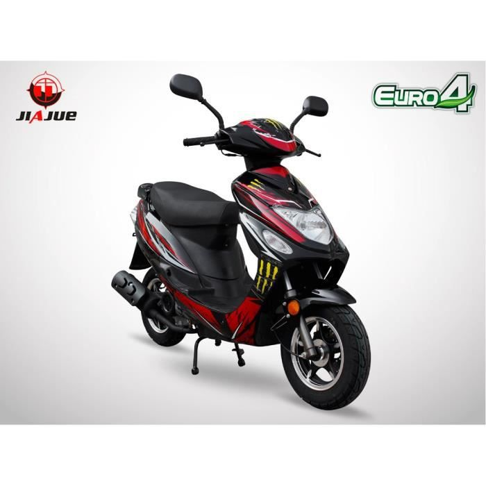 scooter 50cc 4t spiro 50 jiajue dition limit e 2018 s rie sp ciale rouge achat. Black Bedroom Furniture Sets. Home Design Ideas