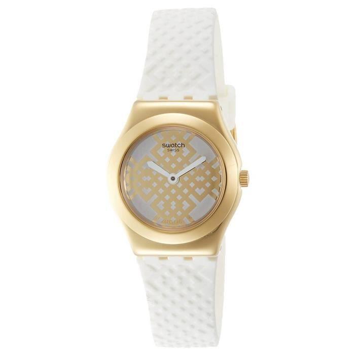 MONTRE Swatch swatch ysg149 montre a quartz moucharabia a