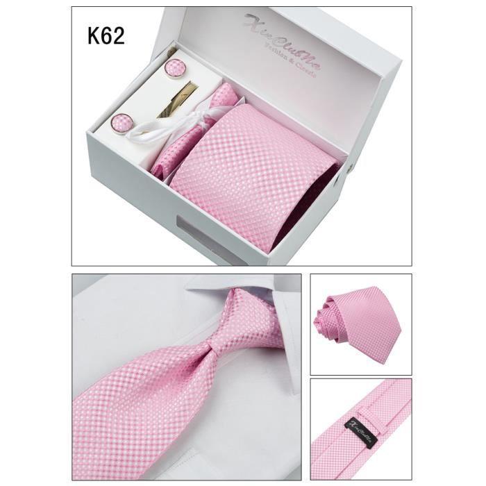 Bleu Rose Argent Cravate Mouchoir De Poche Lot à rayures à motifs fait main 8 cm 100/% soie