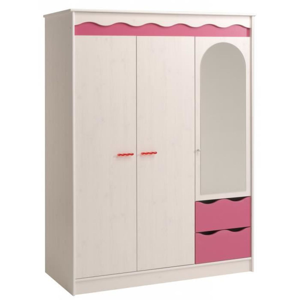 Beautiful Armoire Chambre Fille Pas Cher Images - Design Trends ...