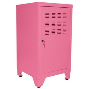 casier rangement habitat m tal casier rangement 1 porte m tal coloris fushia livr avec 4. Black Bedroom Furniture Sets. Home Design Ideas
