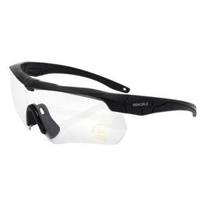 CHEX Europa Cricket Cyclisme Lunettes de soleil Lunettes de sport rouge cadre blanc 5 lentilles