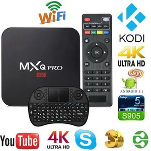 BOX MULTIMEDIA MXQ Pro Smart TV Box Android 5.1 ( Amlogic S905 Qu