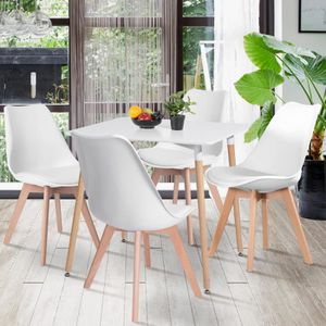TABLE BASSE Table à Manger carré  de 2 à 4 Personnes - Table à