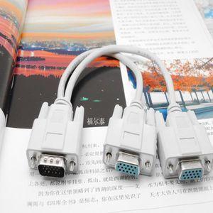 CÂBLE AUDIO VIDÉO Moniteur de câble à double écran graphique LCD TFT