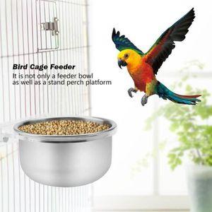 MANGEOIRE - TRÉMIE Mangeoire pour oiseaux accessoires pour cage à per