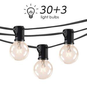 GUIRLANDE D'EXTÉRIEUR LOFTer Guirlande Lumineuse Exterieur 33 Ampoules 9