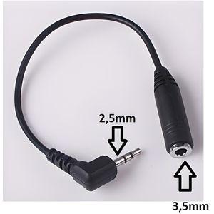 CÂBLE TV - VIDÉO - SON Câble Cable adaptateur Audio Jack - 3,5mm male ver