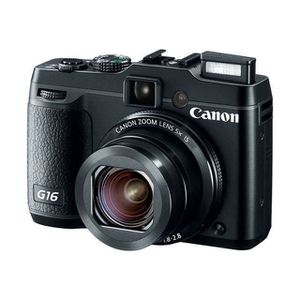 APPAREIL PHOTO BRIDGE CANON Powershot G16 - CMOS 12MP Zoom 5x