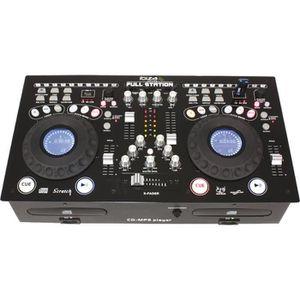 TABLE DE MIXAGE IBIZA FULL-STATION Console de mixage professionnel