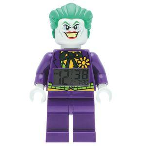 RÉVEIL ENFANT Réveil Lego Super Heroes The Joker