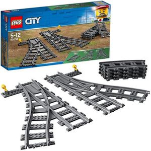 ASSEMBLAGE CONSTRUCTION LEGO® City 60238 Les Aiguillages