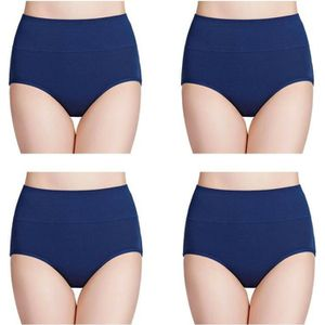 CULOTTE - SLIP Culottes Femmes Coton Taille Haute sous-vêtements