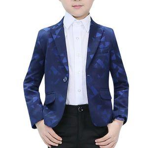 Garçons 5 Pièce Officielle Enfants Costume violet idéal pour mariage robe de soirée 1-16 Ans