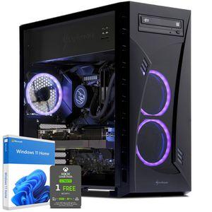 UNITÉ CENTRALE  PC Gamer, AMD Ryzen 7, RX 5700, 250 Go SSD, 2 To H