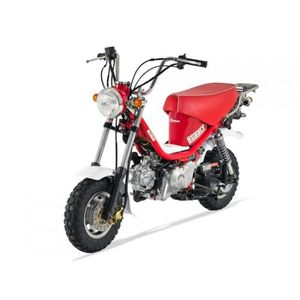 Moto BUBBLY 50 Skyteam Rouge
