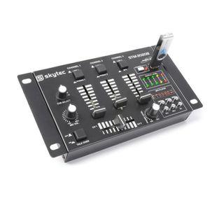 TABLE DE MIXAGE SkyTec STM-3020B Table de mixage 6 canaux avec USB
