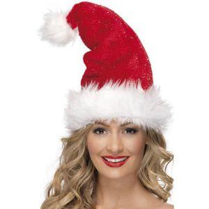 Feeric Christmas Bonnet de Noël Fun qui chante et bouge pour Adulte taille uni