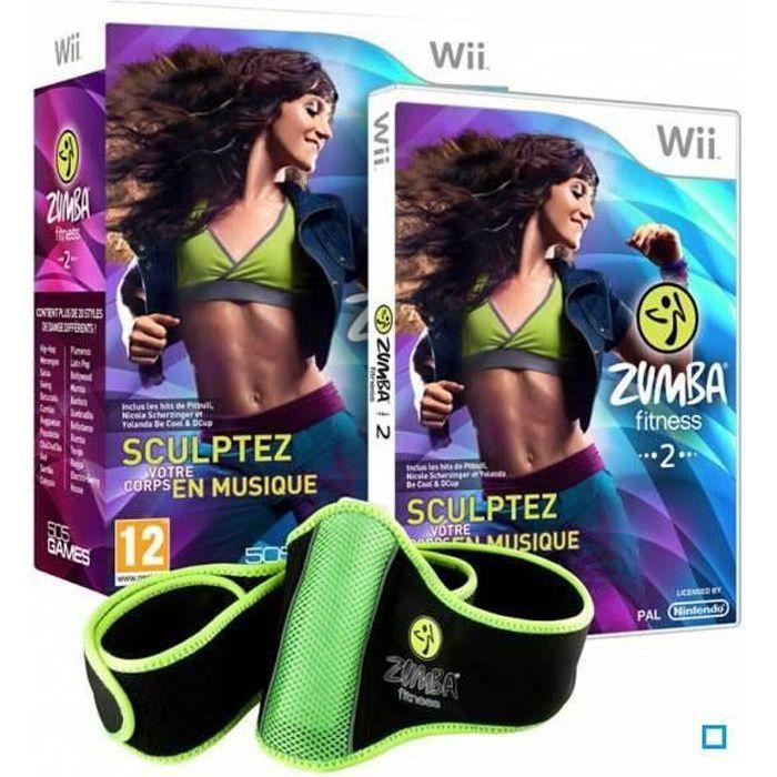 ZUMBA FITNESS 2 + CEINTURE / Jeu console Wii
