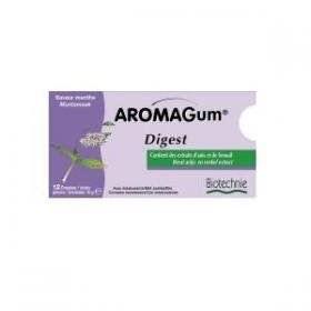 Aromagum Digest - 12 Chewing-gum aux huiles ess…