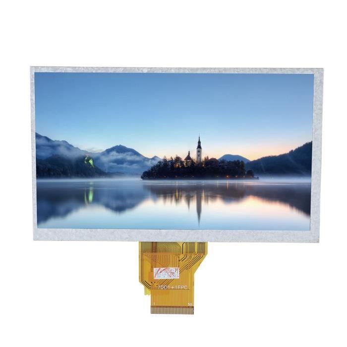 """7"""" Ecran tactile résistif Lcd haute définition pour Raspberry Pi Xia"""