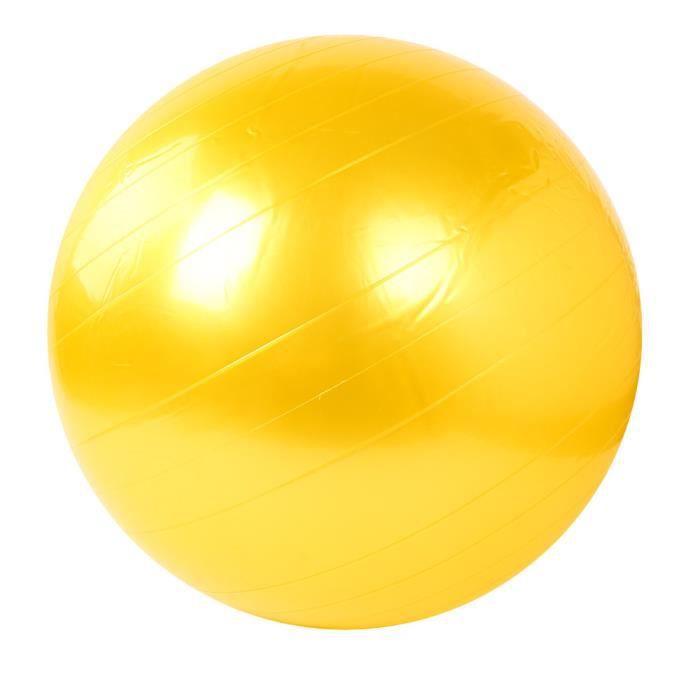 GYM BALL -Ballon de yoga 55cm Exercice Fitness GYM Smooth Yoga Ball YE XCH50803548YE_bei