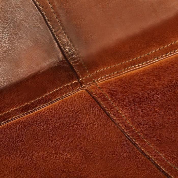 Fauteuils club, fauteuils inclinables et chauffeuses lits Chaise forme de papillon Cuir veritable Marron Taille d