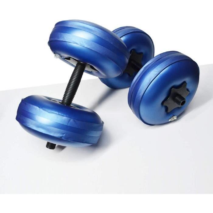 BARRE - HALTERE - POIDS Dyna-Living Alteres Musculation Homme et Femme, Dumbell Haltere Musculation Poids R&eacuteglable, Por15