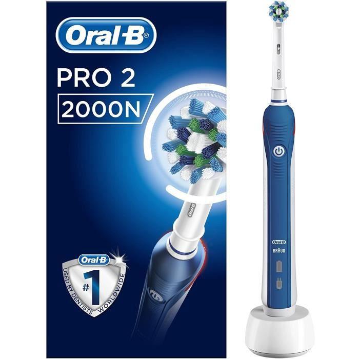 Brosses à dents électriques Oral-B PRO 2 2000N CrossAction Brosse À Dents Électrique 88308
