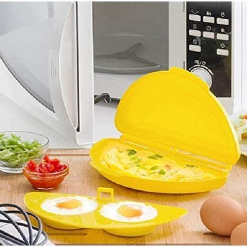 IGS Rührei Maker Cuiseur à œufs œufs pochés pour Four à Micro-Ondes