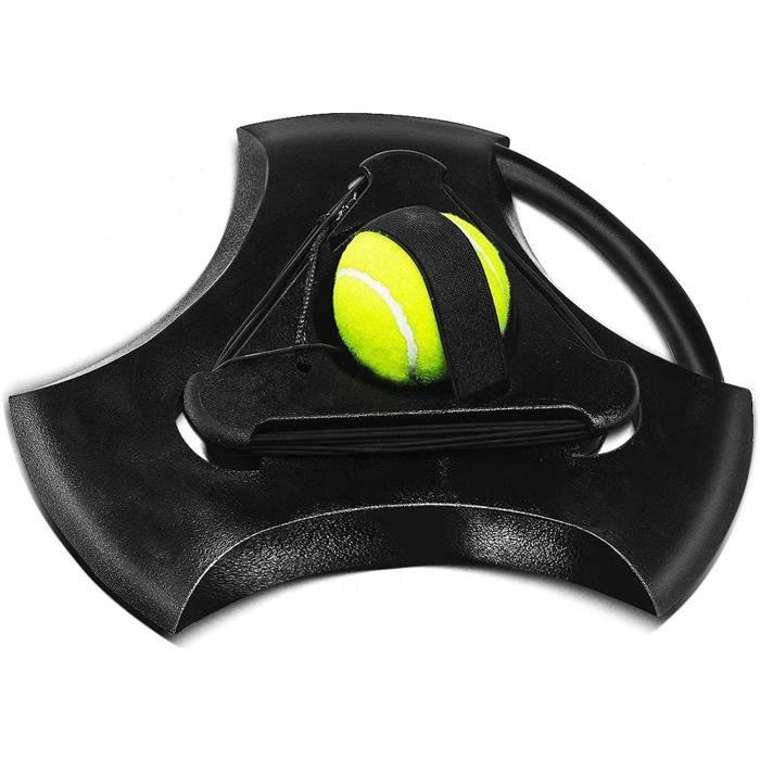 BALLE DE TENNIS Eacutequipement de Tennis Equipement Tennis Tennis Endeacutefinisseur Tennis Ball Entraicircneur Set avec Ficel69