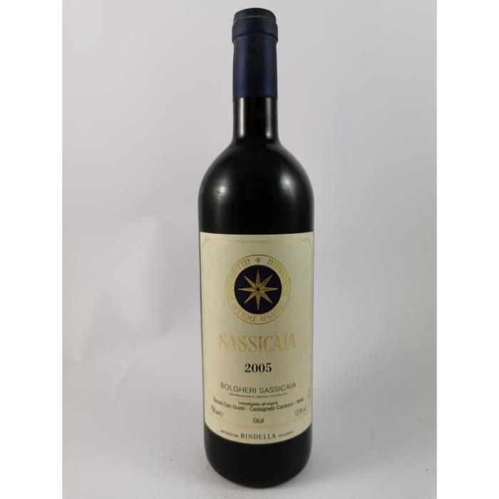 Tenuta San Guido - Sassicaia - Famille Incisa della Rochetta 2005, Bolgheri, Rouge, 75 cl.