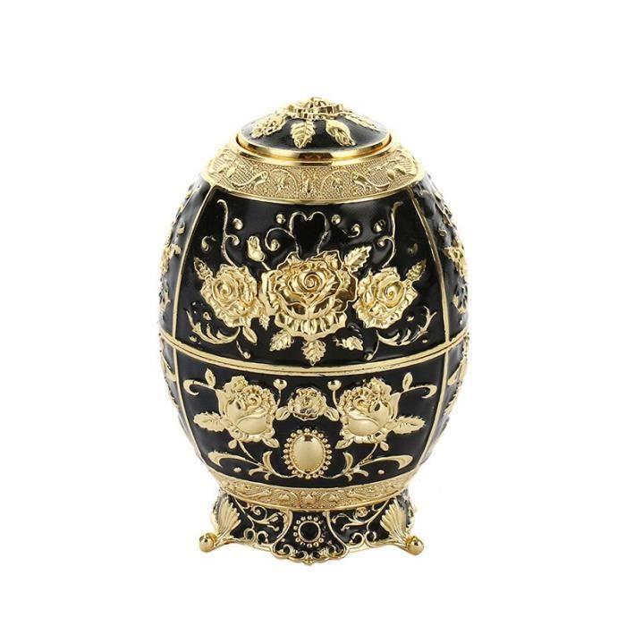 Ustensile de cuisine,Style européen créatif support pour cure dents cure dents automatique boîte mini - Type Golden black beads