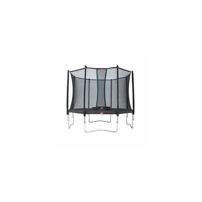 Trampoline BERG Grand Favorit Regular 520 Grey + Safety Net Comfort - Référence : 30.25.65.31