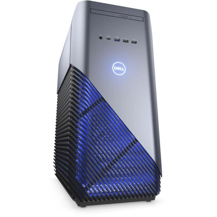 Unité Centrale Gamer - DELL Inspiron Desktop 5680 - Core i3 8100 - RAM 8 Go - Stockage 1To HDD - NVIDIA GTX 1060 3 Go Windows 10