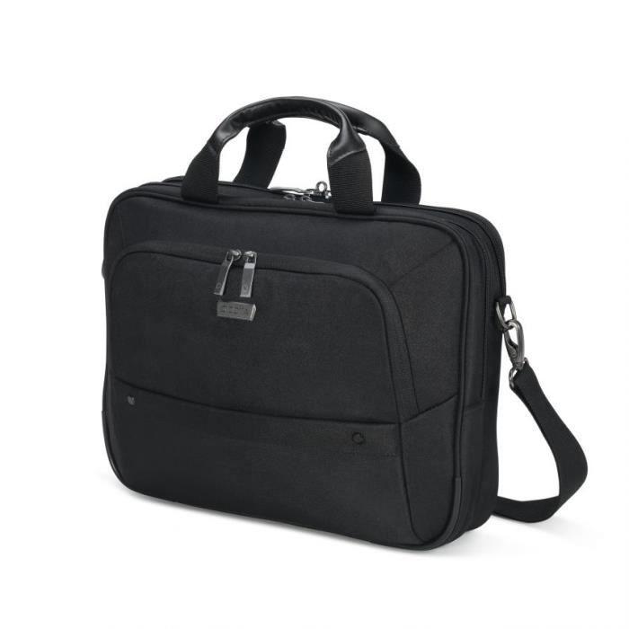 DICOTA Sacoche de transport Dicota Eco Top Traveller Select pour ordinateur portable 39,6 cm (15,6-) - Noir