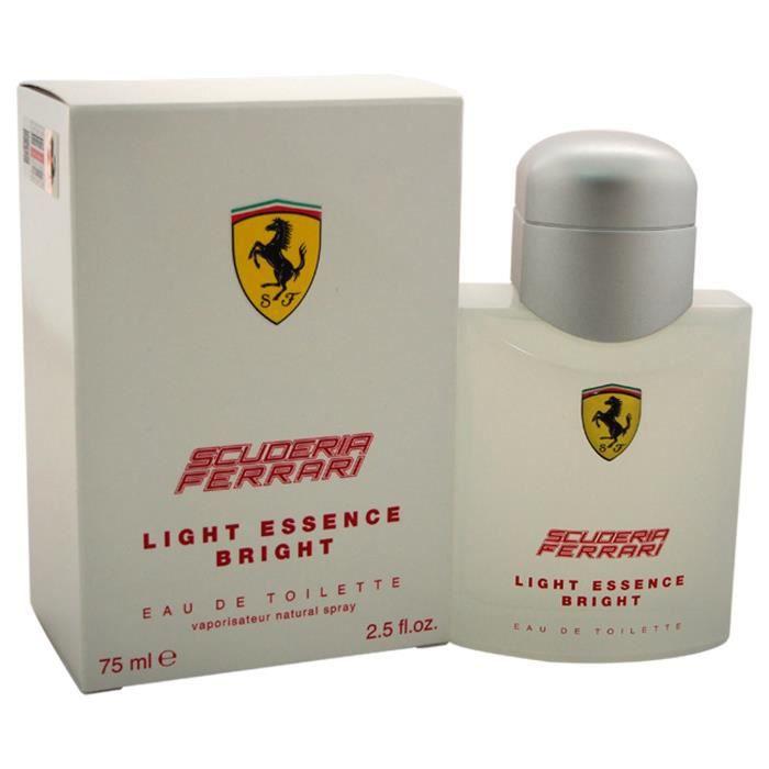 Ferrari Scuderia Light Essence Bright by Ferrari pour Homme - 2,5 oz EDT Spray