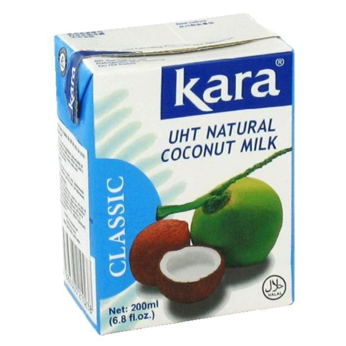 Lait de coco Kara - 200 ml