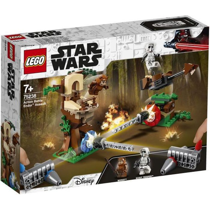 LEGO Star Wars™ 75238 Action Battle L'assaut d'Endor™