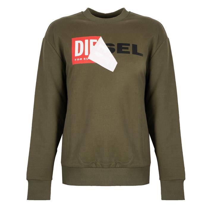 10070401- Diesel - 00S8WC-0IAEG-51F - S-Samy Felpa - Homme - Regular Fit