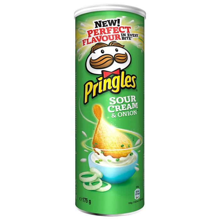 Pringles - Pringles Sour Cream and Onion (6 boîtes)