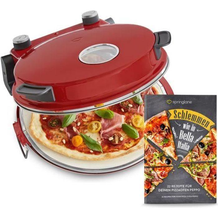 Four à Pizza électrique - 1200W - à 350°C