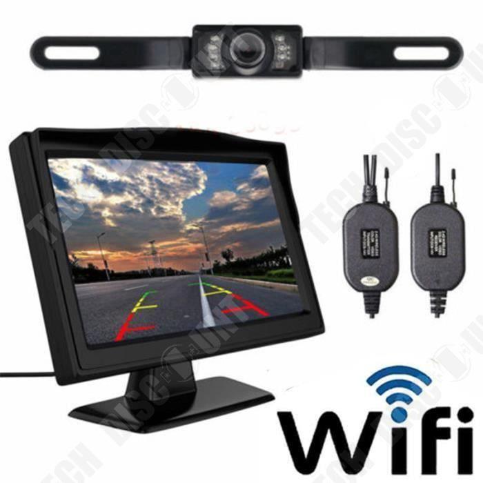 TD®Kit de caméra de recul grande résolution pour voiture équipé de vision nocturne faible consommation d'énergie moderne et pratique
