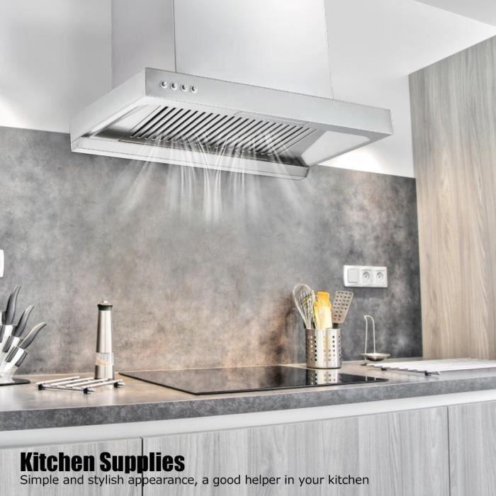 VGEBY® Hotte murale à flux d'air Hotte aspirante Appareils de cuisine ménagers (prise UE 220 V) -CYA