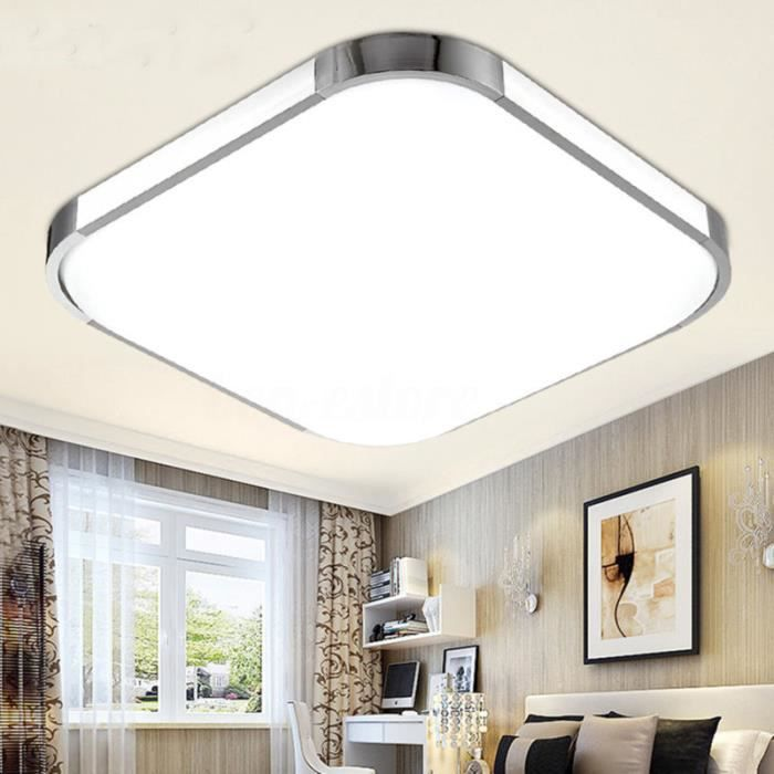 24w led ultraslim panneau de plafond vers le bas lumi re salle de bains cuisine mur couloir. Black Bedroom Furniture Sets. Home Design Ideas