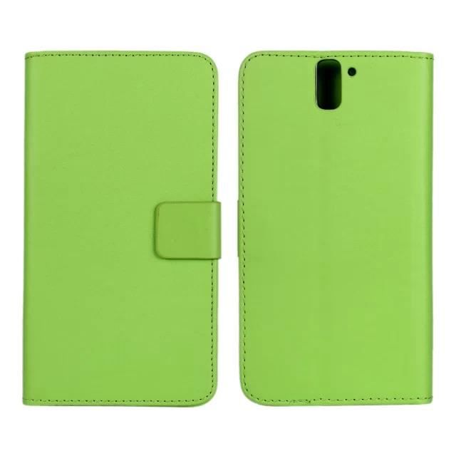 vg vert coque pour oneplus one 5 5 39 39 tui rabat en cuir portefeuille protection coque case. Black Bedroom Furniture Sets. Home Design Ideas