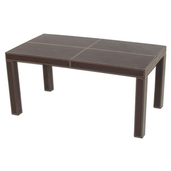 Mobilier table table basse simili cuir - Table basse simili cuir ...