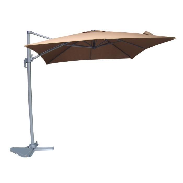 guoel parasol d port 2 5m x 2 5m achat vente parasol ombrage guoel parasol d port 2 5m. Black Bedroom Furniture Sets. Home Design Ideas