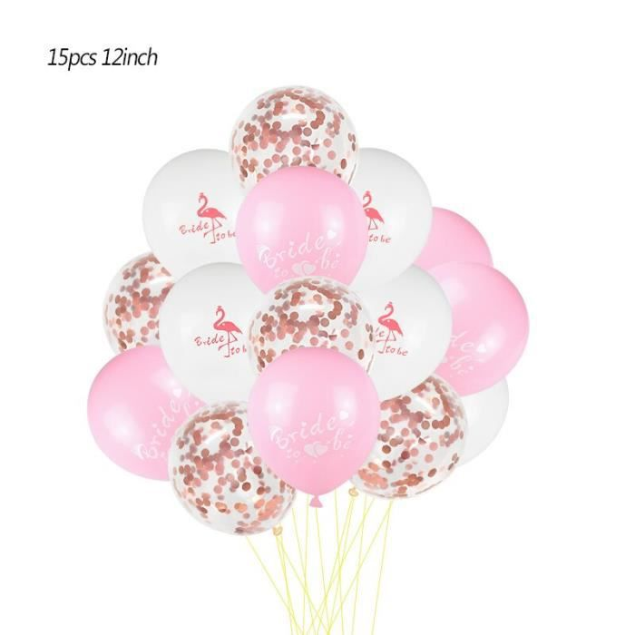 Or Rose Feuille Parti fournitures Vaisselle Ballons Décorations Accessoires